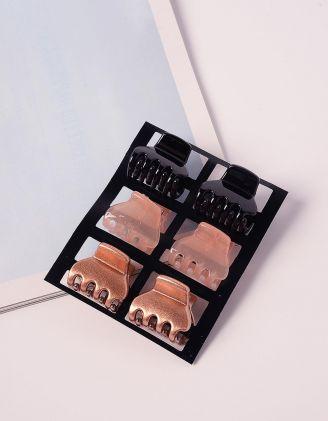 Шпильки для волосся крабіки у наборі | 239239-21-XX