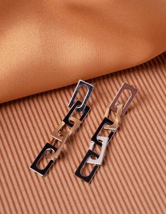 Сережки довгі у вигляді ланцюжка | 240196-05-XX