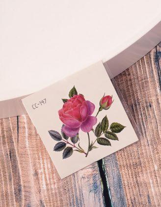 Тату тимчасове із зображенням троянди | 238214-17-XX