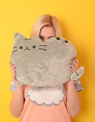 Іграшка подушка у вигляді кота   220655-11-XX