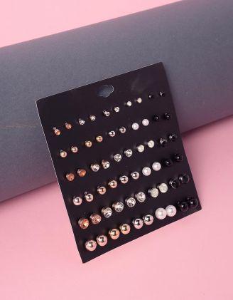 Сережки пусети у наборі | 239689-21-XX
