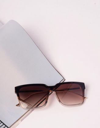 Окуляри сонцезахисні wayfarer з тонкими дужками   240680-12-XX