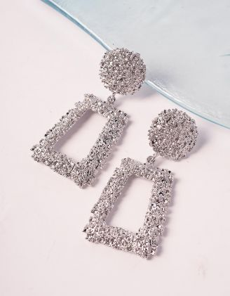 Сережки з рельєфним покриттям | 239561-05-XX
