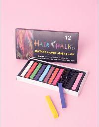 Крейда для волосся в наборі з 12 штук | 214931-21-XX