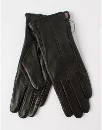 Перчатки из натуральной кожи с плетением | 227822-02-05