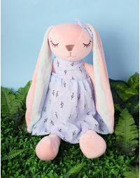 Іграшка зайченя у сукні | 236553-31-XX