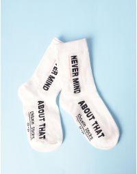 Шкарпетки з написом | 235270-01-XX
