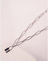 Підвіска на шию із ланцюга з кулоном у вигляді замка   239428-05-XX