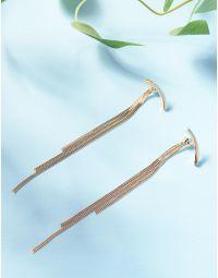 Сережки довгі з ланцюжками | 235934-04-XX