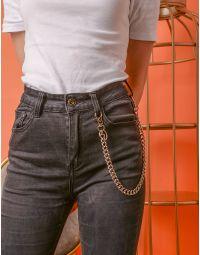 Ланцюг підвіска на брюки та джинси  з карабінами | 237057-05-XX