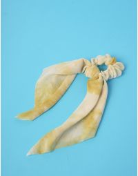 Резинка для волосся з мармуровим принтом   238995-19-XX