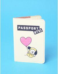 Обкладинка на паспорт з bts bt21 CHIMMY  Чимин | 237245-42-XX