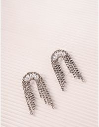 Сережки фігурні з перлинами | 238906-06-XX