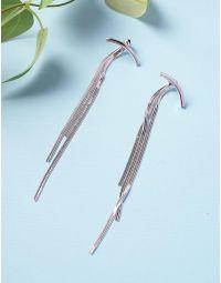 Сережки довгі з ланцюжками | 235934-05-XX