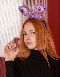 Обідок для волосся на хелоуін з очима, що світяться | 238929-03-XX