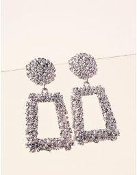 Сережки  фігурні  з рельєфним покриттям | 237400-05-XX