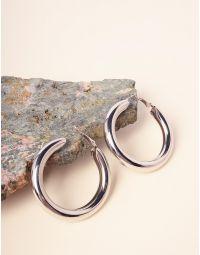 Серьги кольца крупные | 232969-05-XX