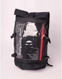 Рюкзак об'ємний з прозорою кишенею | 238756-02-XX