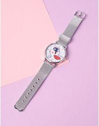 Годинник на руку з малюнком обличчя та помади | 235320-05-XX