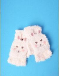 Рукавички мітенки з зайченятами | 235300-01-XX