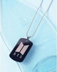 Підвіска на шию з написом bts | 237087-05-XX