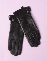 Перчатки из натуральной кожи теплые | 234661-02-07
