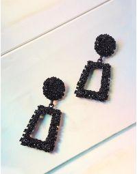 Сережки  фігурні  з рельєфним покриттям | 237400-02-XX