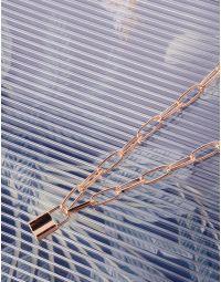 Підвіска на шию із ланцюга з кулоном у вигляді замка   239428-04-XX