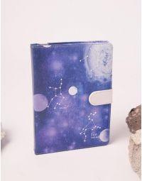 Блокнот у лінію з принтом сузір'я та космосу | 238840-21-XX