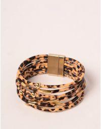 Браслет на руку з застібкою під шкіру тигра | 238908-34-XX
