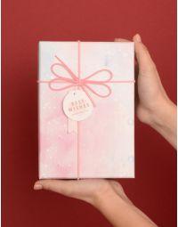 Коробка подарункова з бантом 8 х 19 х 8  см | 239655-18-XX