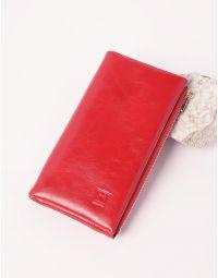 Гаманець подвійного складання з відділом для карток | 238145-15-XX