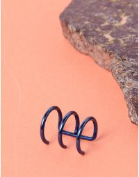Сережка обманка з трьох кілець | 234488-13-XX