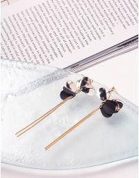 Сережки довгі з ланцюжками | 240003-09-XX