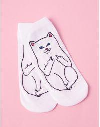 Шкарпетки з малюнком котика з факом | 236320-01-XX