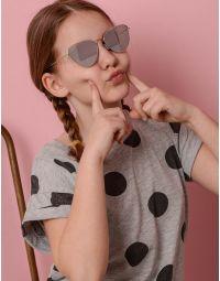 Окуляри дитячі сонцезахисні з тонкими дужками | 236182-05-XX