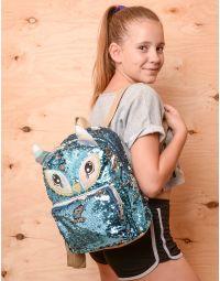 Рюкзак з паєток у вигляді сови | 237348-13-XX