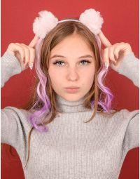 Обідок для волосся з помпонами | 239119-03-XX