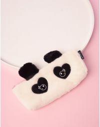 Пенал хутряний із зображенням панди | 239447-01-XX