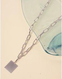 Підвіска із ланцюжків з кулоном | 238583-05-XX