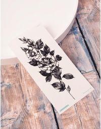 Тату тимчасове із зображенням троянди | 238223-02-XX