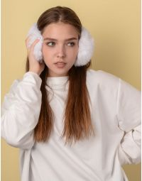 Навушники хутряні з тонкою дужкою | 234294-01-XX