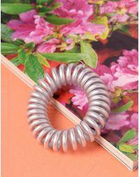 Резинка для волосся спіральна металізована | 238023-05-XX