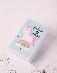 Коробка подарункова з малюнком єдинорога | 238244-18-XX