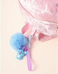 Брелок на сумку BTS з хутряним помпоном | 237368-13-XX