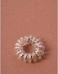 Резинка для волосся спіральна з намистинами | 238161-04-XX