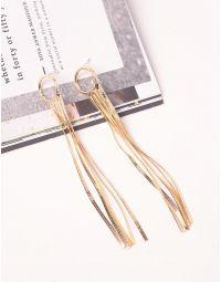 Сережки довгі з кільцями | 239896-04-XX