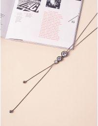 Підвіска на шию довга з кристалами | 239950-10-XX