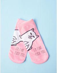Шкарпетки з малюнком кота Lord Nermal | 236319-14-XX