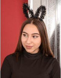 Обідок для волосся з вушками зайчика із дощика | 239399-02-XX
